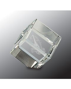 1.5 in. Crystal Cube