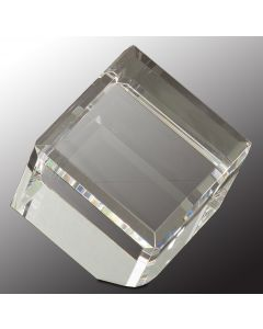 3 1/2 in. Crystal Cube