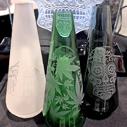 Customize Functional Glass with Sandcarving