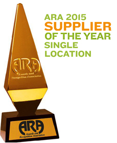 ARA 2015 Supplier of the Year
